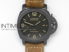 PAM386 M Composite 1:1 V2 Best Edition on Brown Asso Strap P.9000 Movement