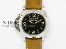 PAM557 O Black Dial on Brown Asso Strap P.3000 Super Clone