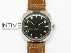 PAM448 O California Dial on Thick Brown Leather Strap P.3000 Super   Clone