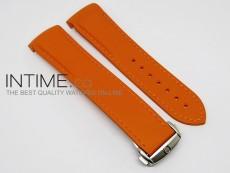 Rubber Strap For 45mm Ceramic Planet Ocean Orange