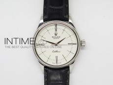 Cellini 50509 BP Maker SS White Dial on Brown Leather Strap A2824