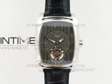 Kalpa Grande Tourbillon AXF Best Edition SS Brown Dial on Black Leather Strap