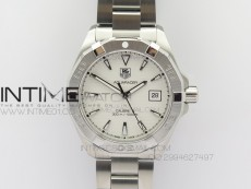 Aquaracer SS 1:1 Best Edition White Dial SS Bezel on Bracelet A2824