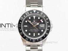 GMT-Master 16710 SS BP Best Black Bezel White Markers