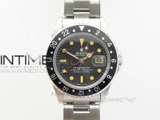 GMT-Master 16710 SS BP Best Black Bezel Vintage Markers