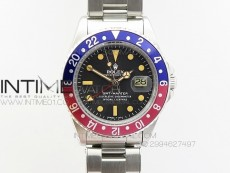 GMT-Master 16710 SS BP Edition Blue/Red Bezel Vintage Markers