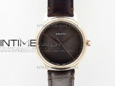 Elite RG CYF 1:1 Best Edition Brown Dial on Brown Leather strap Miyota 9015 to Elite 6150