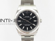 Oyster Perpetual 39mm 114300 BP 1:1 Best Edition Black Dial on SS Bracelet SA3132