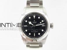 Black Bay 41mm LF 1:1 Best Edition Black Dial on SS Bracelet A2824