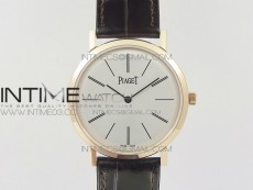 Altiplano RG BBR Best Edition White Dial on Brown Leather Strap A430P