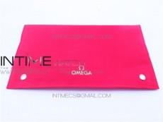 OMEGA bag with warranty card