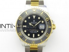 Sea-Dweller 126603 SS/YG 126603 DIF 1:1 Best Edition 18K Wrapped gold SS/YG Case and Bracelet A2824