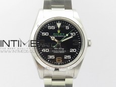 Air-King 116900 40mm Baselworld 2016 UBF Best Edition Black Dial on SS Bracelet A2836