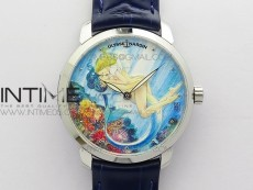 CLASSICO SS Style01 FKF Best Edition ON BLUE LEATHER STRAP A2892