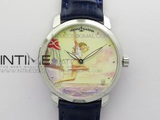 CLASSICO SS Style02 FKF Best Edition On Blue Leather Strap A2892