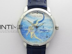 CLASSICO SS Style03 FKF Best Edition On Blue Leather Strap A2892
