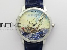CLASSICO SS Style05 FKF Best Edition On Blue leather strap A2892