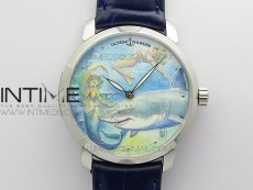 CLASSICO SS Style07 FKF Best Edition On Blue Leather Strap A2892