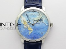 CLASSICO SS Style09 FKF Best Edition On Blue Leather Strap A2892