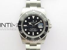 Submariner 116610 LN Black Ceramic 316L Steel BP 1:1 Best Edition Black Dial on SS Bracelet SA3135 V2