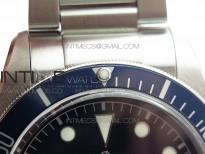 Heritage Black Bay M79230B-0008 SS ZF 1:1 Best Edition Blue Bezel Black Dial on SS Bracelet A2824(Free box)