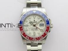 GMT Master II 126719 BLRO Red/Blue Ceramic 316L Steel BP 1:1 Best Edition Meteorite Dial on SS Bracelet A3285