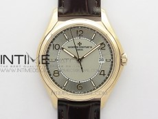 Fiftysix RG 40mm ZF 1:1 Best Edition Silver Dial on Black Leather Strap A1326