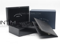 Franck Muller box set with booklet and guarantee paper
