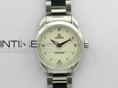 Aqua Terra Seamaster ZF 1:1 Best Edition White Dial on SS Bracelet Gen 4061