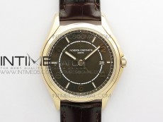 Fiftysix RG 40mm ZF 1:1 Best Edition Brown Dial on Brown Leather Strap A1326