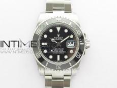 Submariner 116610 LN Black Ceramic 904L Steel VSF 1:1 Best Edition VS3135
