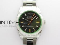 Pre-Order: Milgauss 116400 GV 904L Steel ARF 1:1 Best Edition Black Dial on Bracelet SH3131