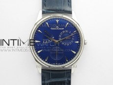 Master Ultra Thin Reserve de Marche SS ZF 1:1 Best Edition Blue Dial on Blue Leather Strap A938 V3 (Free gummy strap and tool)