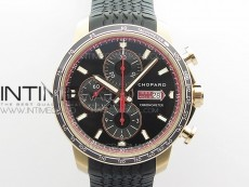 Mille Miglia 168571 RG V7F 1:1 Best Edition Black Dial On Black Rubber Strap A7750 to Cal.107179