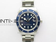 Black Bay Fifty Eight 39mm SS ZF 1:1 Best Edition Blue Dial on SS Bracelet A2824