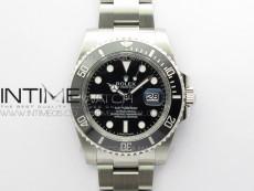 Submariner 116610 LN Black Ceramic ARF 1:1 Best Edition 904L SS Case and Bracelet A2824 V4