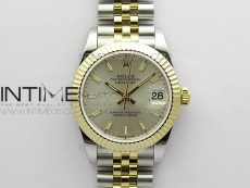 Datejust 31mm 278273 SS/YG BP Best Edition Silver Stick Markers Dial on SS/YG Jubilee Bracelet