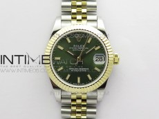 Datejust 31mm 278273 SS/YG BP Best Edition Gray Stick Markers Dial on SS/YG Jubilee Bracelet