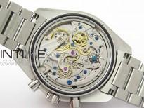Speedmaster 50th Anniversary SS OMF Best Edition Blue Dial on SS Bracelet Manual Winding Chrono Movement