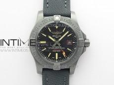 AVENGER BLACKBIRD V17311 DLC ZF 1:1 Best Edition Black Dial on Nylon Strap A2824 V2