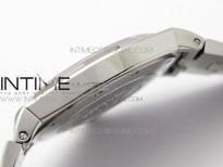 Overseas SS MKS 1:1 Best Edition White dial on SS Bracelet MIYOTA 9015