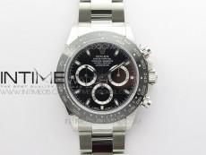 Daytona 116500 VRF 1:1 Best Edition Black Dial on SS Bracelet A7750