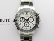 Daytona 116500 VRF 1:1 Best Edition White Dial on SS Bracelet A7750