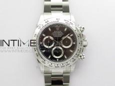 Daytona 116520 VRF 1:1 Best Edition Black Dial on SS Bracelet A7750