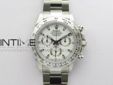 Daytona 116520 VRF 1:1 Best Edition White Dial on SS Bracelet A7750
