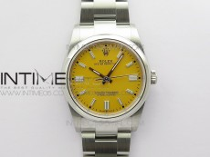 Oyster Perpetual 36mm 126000 BP Best Edition Yellow Dial on SS Bracelet