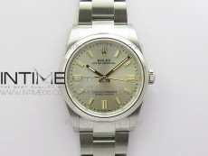 Oyster Perpetual 36mm 126000 BP Best Edition Silver Dial on SS Bracelet