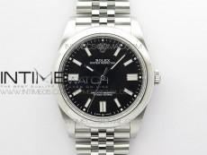 Oyster Perpetual 41mm 124300 BP Best Edition Black Dial on SS Jubilee Bracelet