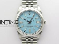 Oyster Perpetual 41mm 124300 BP Best Edition Tiffany Blue Dial on SS Jubilee Bracelet