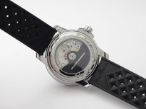 Fifty Fathoms 5008B 40mm SS 1:1 Noob Best Edition Black Dial on Black Rubber Strap A1151